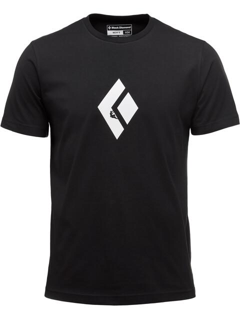 Black Diamond Climb Icon Bluzka z krótkim rękawem Mężczyźni czarny